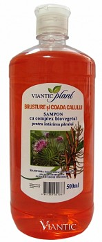 "Shampoo with Bio active complex ""PLANT"" burdock and horsetail [1L]"