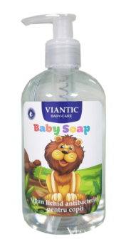 ANTIBACTERIAL BABY LIQUID HAND SOAP LION - VIANTIC, 350ml