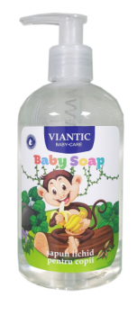 BABY LIQUID HAND SOAP MONKEY - VIANTIC, 350ml