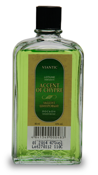 "Perfumed lotion ""ACCENT OF CHYPRE"", [80ml]"