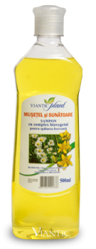 "Shampoo with Bio active complex  ""PLANT"" camomile and St. John s wort [500ml]"